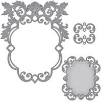 Spellbinders Nestabilities Renaissance Collection : Labels 51 Decorative Accents