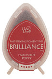 Dew Drop Brilliance Inks - Pearlescent Poppy