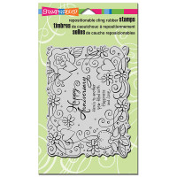 Stampendous Cling Stamp - Anniversary Wish
