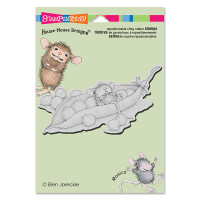 Stampendous: House Mouse Stamps- Pea Pod Nap