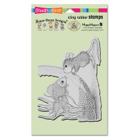 Stampendous: House Mouse Stamps- Fishy Kiss