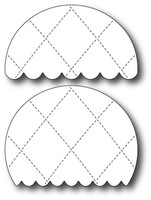 Memory Box Dies - Quilted Balloon Decorations