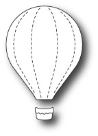 Memory Box Dies - Little Hot Air Balloon