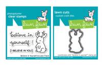 Lawn Fawn Stamps & Dies Bundle - Believe In Yourself
