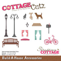 CottageCutz Die - Build-A-House Accesories