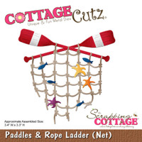 CottageCutz Die - Paddles & Rope Ladder Net
