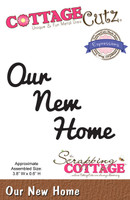 CottageCutz Expressions Die - Our New Home