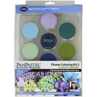 """PanPastel """"Susan's Garden"""" Flower Coloring Kit #2"""