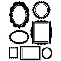 Darice A2 Embossing Folder - Wall Frames