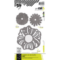 Carabelle Art Cut Die 3/Pkg - Flowers