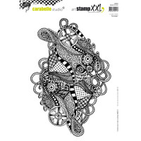Carabelle Studio Cling Stamp XXL A4 - Zentangle