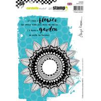 Carabelle Studio Cling Stamp A5 - Flower Garden