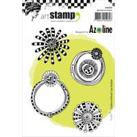 Carabelle Studio Cling Stamp A6 - Frames & Flowers