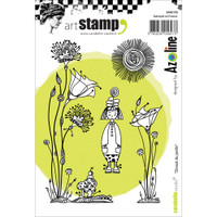 Carabelle Studio Cling Stamp A6 - Zinouk Of The Garden