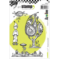 Carabelle Studio Cling Stamp A6 - Zinouk Of The Under Wood