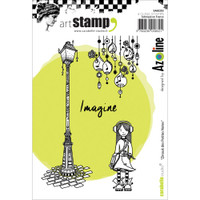 Carabelle Studio Cling Stamp A6 - Zinouk Of The Little Notes