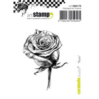 "Carabelle Studio Cling Stamp Small 2""X2.75"" - Rose"