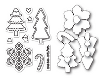 Memory Box Dies & Stamps Die Set - Christmas Cookies