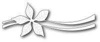 Memory Box Poppystamps Dies - Poinsettia Ribbon