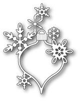 Memory Box Poppystamps Dies - Lavinia Snowflake Ornament