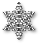 Memory Box Poppystamps Dies - Callum Stitched Snowflake