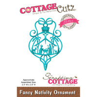 CottageCutz Elites Die - Fancy Nativity Ornament