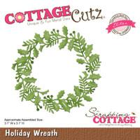 CottageCutz Elites Die - Holiday Wreath