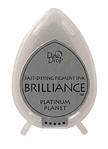 Dew Drop Brilliance Inks - Metallic Platinum Planet