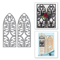 Spellbinders Card Creator - Renaissance Jubilee - Venetian Gatefold