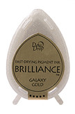 Dew Drop Brilliance Inks - Metallic Galaxy Gold