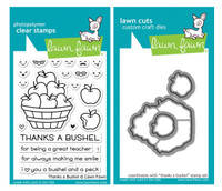 Lawn Fawn Clear Stamps & Dies - Thanks A Bushel
