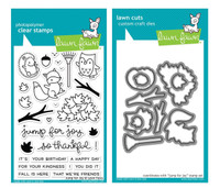 Lawn Fawn Clear Stamps & Dies - Jump For Joy