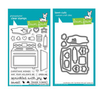 Lawn Fawn Clear Stamps & Dies - Sprinkle With Joy