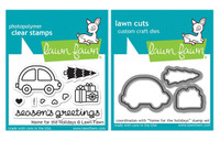 Lawn Fawn Clear Stamps & Dies - Home For The Holidays