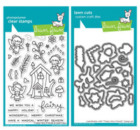 Lawn Fawn Clear Stamps & Dies  - Frosty Fairy Friends