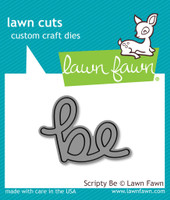 Lawn Cuts Custom Craft Die - Scripty Be