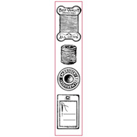 Stamperia High Definition Rubber Stamp - Sewing
