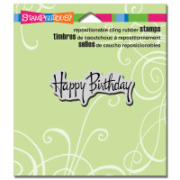 Stampendous - Graceful Birthday