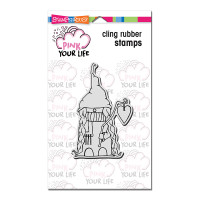 Stampendous Cling Stamp - Mama Christmas