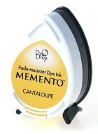 Memento Dew Drop Ink Pad - Cantaloupe
