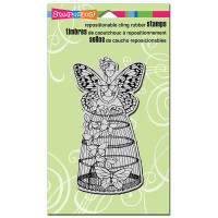 Stampendous Cling Rubber Stamp - Butterfly Aviary