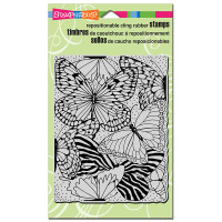Stampendous Cling Rubber Stamp - Butterfly Wings