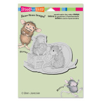 Stampendous Cling Rubber Stamp - Nurse Mouse