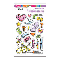 Stampendous Perfectly Clear Stamps Set  - Bible Journal