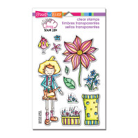 Stampendous Perfectly Clear Stamps Set  - Whisper Garden