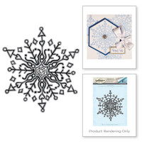 Spellbinders Stamps Tammy Tutterow Collection : Doodle Snowflake
