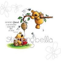 Stamping Bella Cling Stamp - Honeybear Stuffies