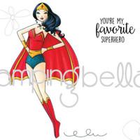 Stamping Bella Cling Stamp - Superbella