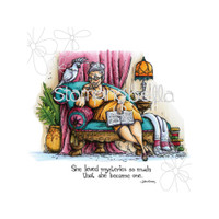 Stamping Bella Cling Stamp - The Reader