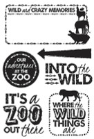 KaiserCraft Clear Stamps - Into The Wild